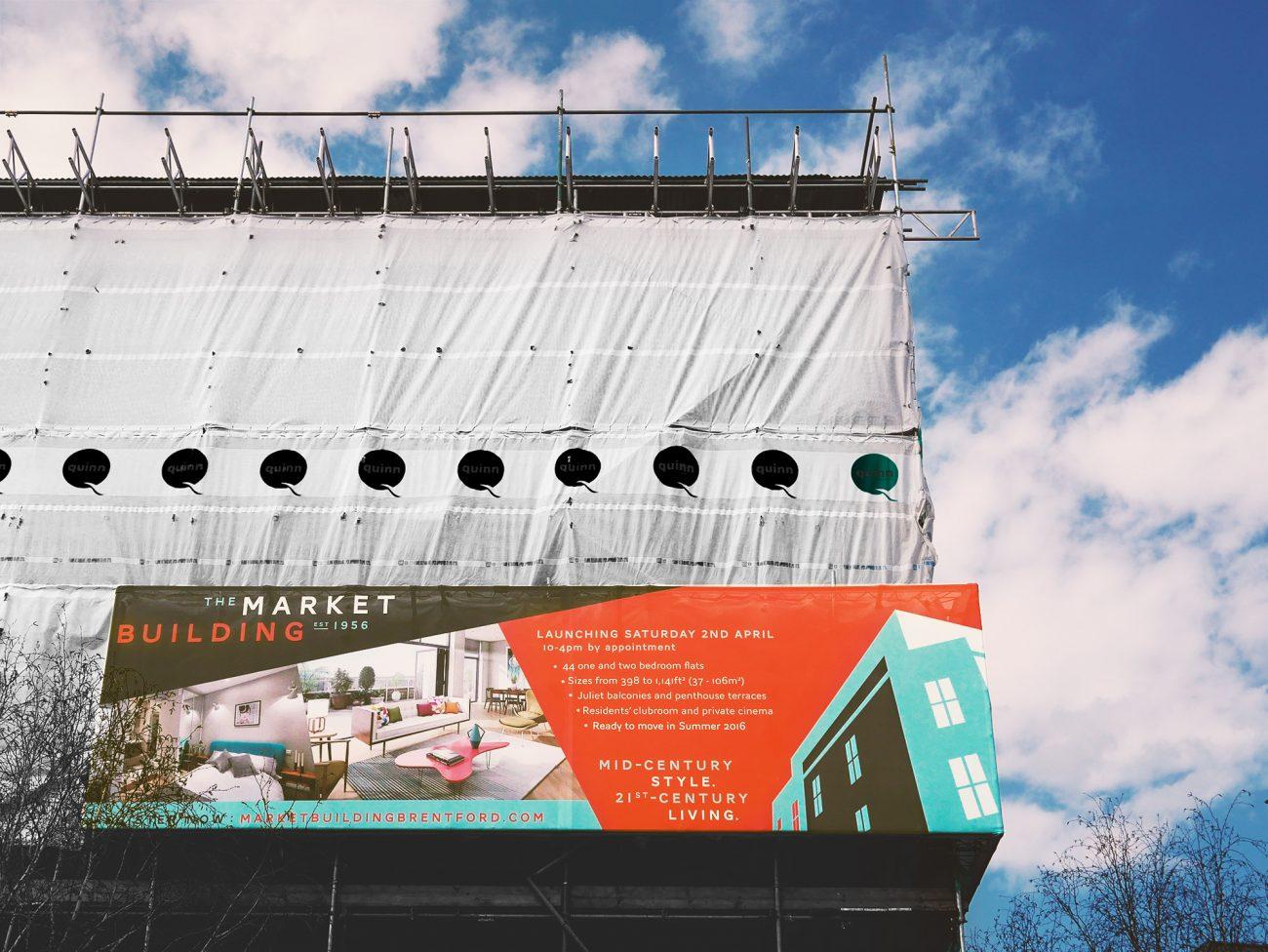 graphic design hoarding london